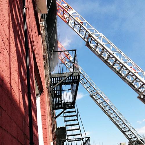Fire Truck Ladders