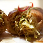 Yakisoba Sandwich at Panya &#8211; NYC