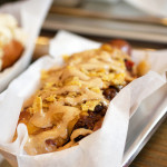 Colombian Hot Dogs & Fries at Los Perros Locos – NYC