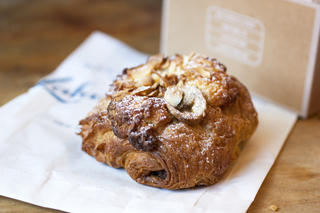 banana coconut chocolate croissant @ lafayette