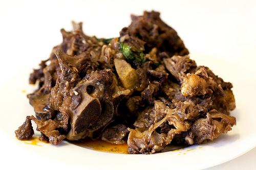 stewed lamb ribs & spine @ xi'an foods