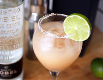 Grapefruit Margarita with Dobel Tequila