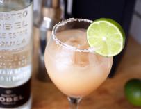 Grapefruit Margarita with Dobel Tequila