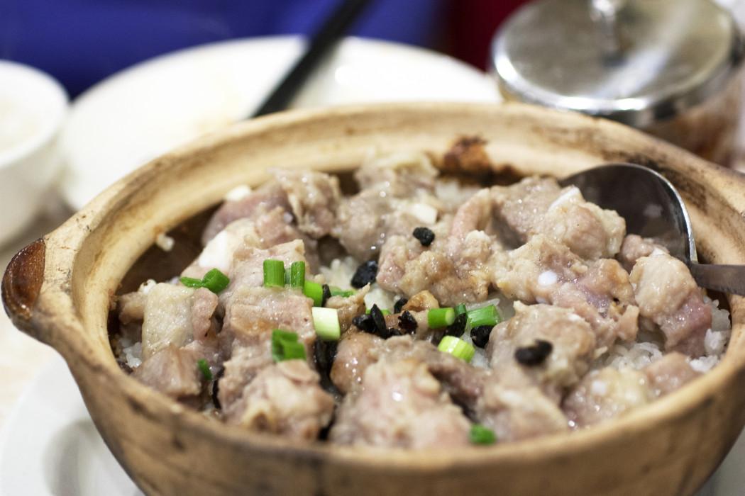 claypot rice @ awah II